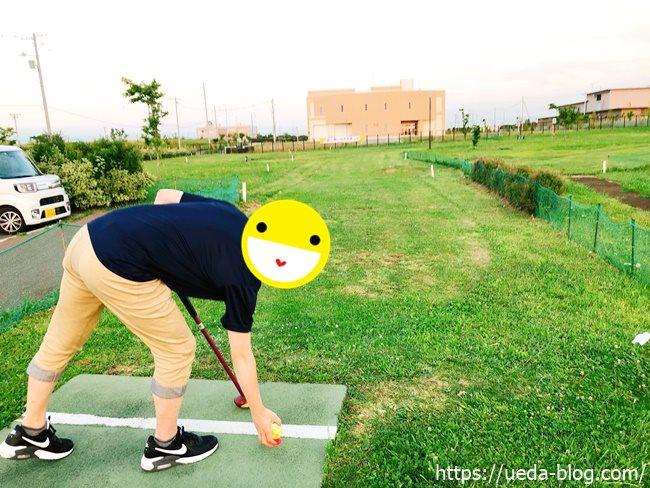 東雁来公園パークゴルフ場第1打目