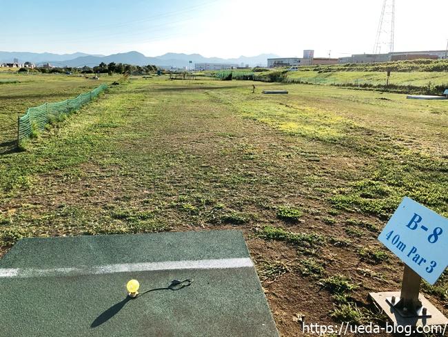豊水パークゴルフ場はコース上の芝も状態が良くない