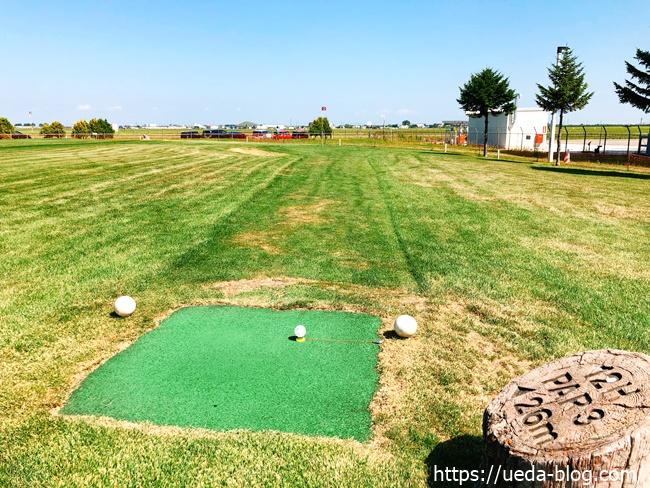 つどーむパークゴルフ場は起伏がまったくないユニバーサルデザイン