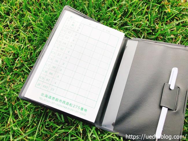 便利な道具 スコアカードケース