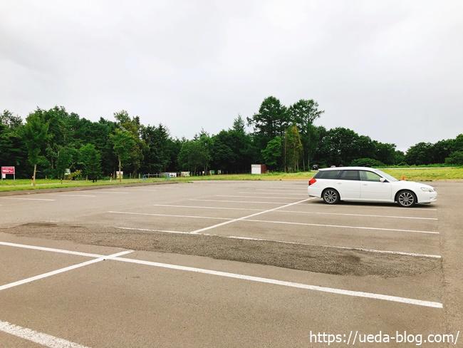 るるまっぷパークゴルフ場の駐車場
