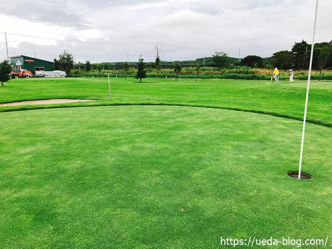 輪厚国際パークゴルフ場のグリーン