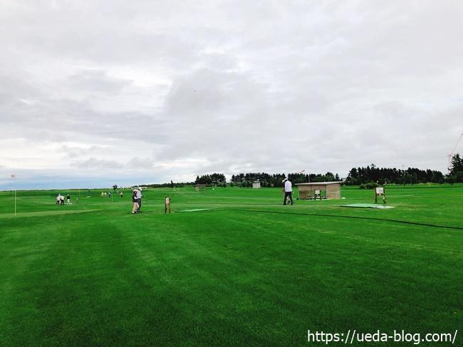 輪厚国際パークゴルフ場の天然芝は上質