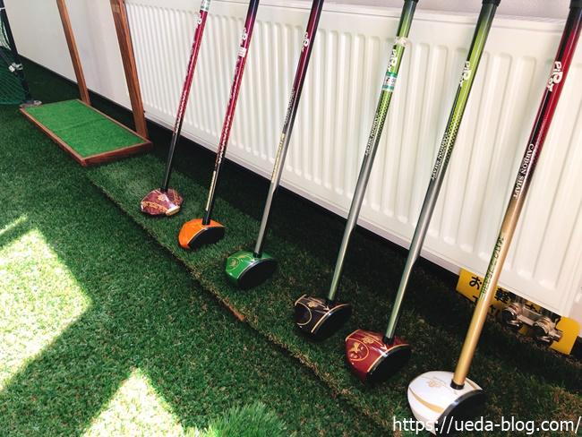 ピポット製のパークゴルフクラブ