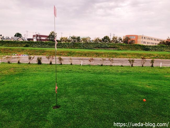 はらっぱ36パークゴルフ場のグリーン