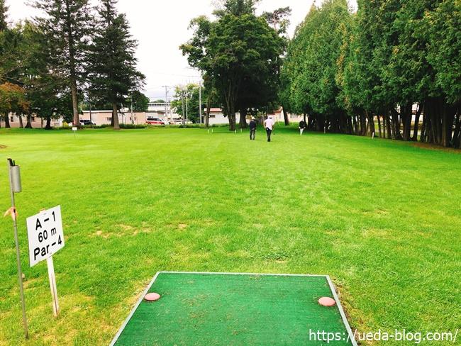 エルム(白人公園)パークゴルフ場はフラットでコンパクトなコース