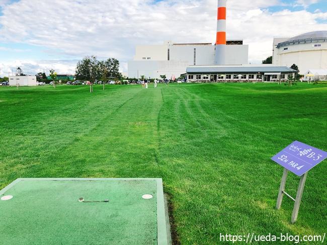 福移の杜パークゴルフ場はフェアウェイがやや狭くラフ出しの練習に最適