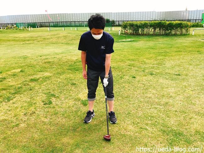 パークゴルフ 方向性が安定する正しいグリップの組み方