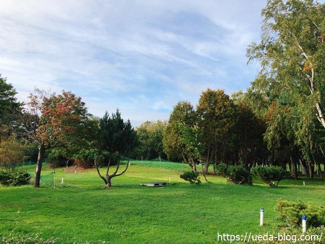 太平公園パークゴルフ場は自然が多くて快適