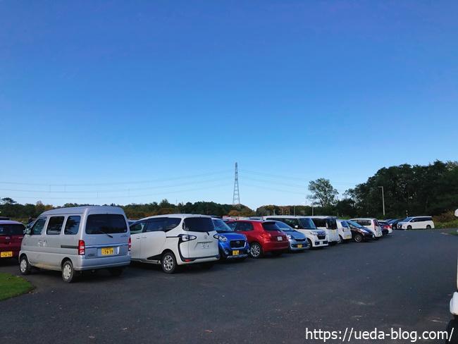 PGJ倶楽部茨戸コースの駐車場