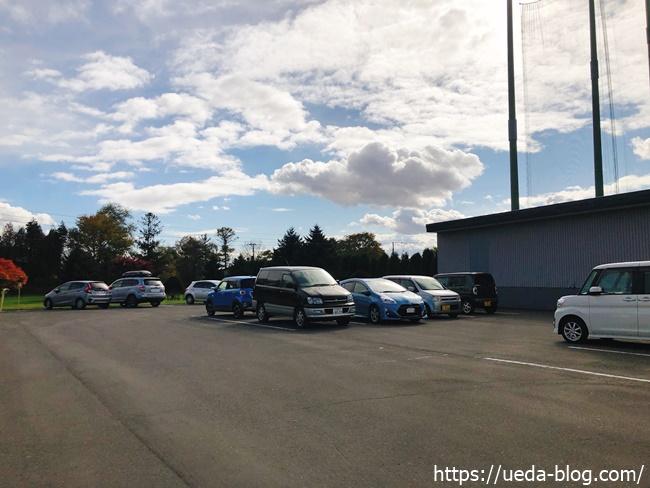 リバーサイドパークゴルフ場 駐車場の様子2