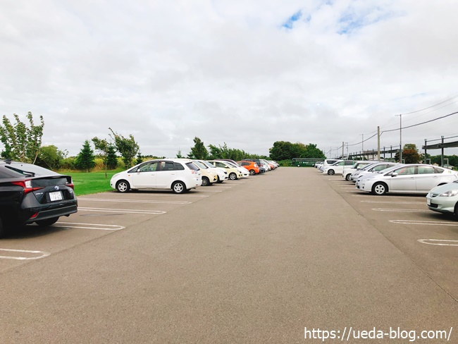輪厚国際パークゴルフ場 駐車場