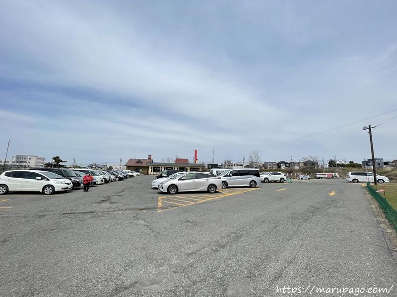 山根園パークゴルフ場 駐車場