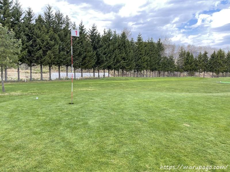 エルクの森パークゴルフクラブ グリーン