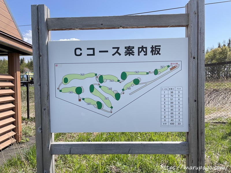 茨戸川緑地パークゴルフ場 Cコース