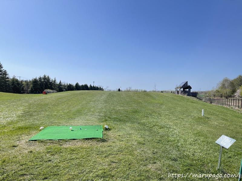茨戸川緑地パークゴルフ場 Cコース5ホール目