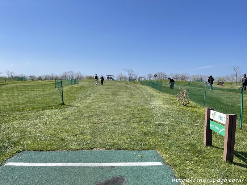山口緑地パークゴルフ場東コース Bコース(スズラン)