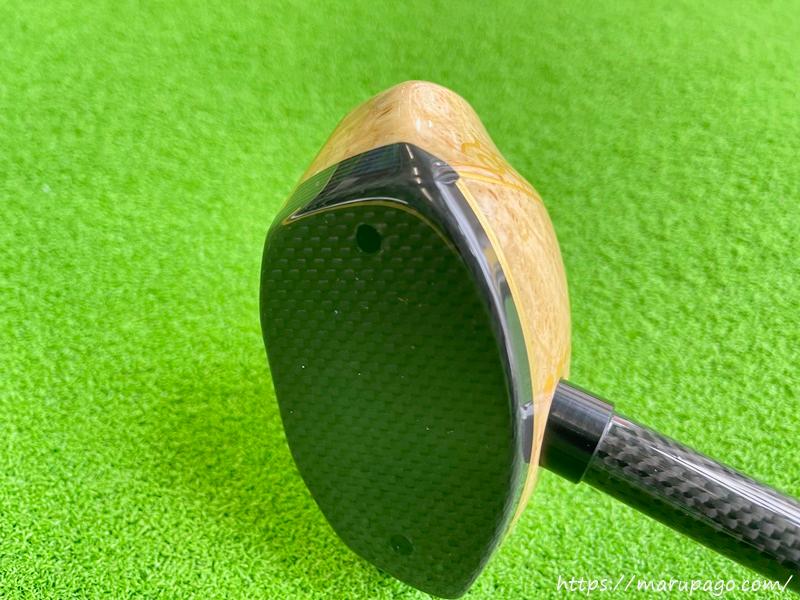 アオダモパークゴルフクラブは反発性能が高く、粘りがある
