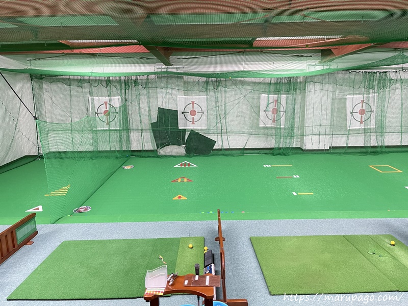 札幌市中央区 山の手ゴルフセンターパークゴルフ打ちっぱなし練習場