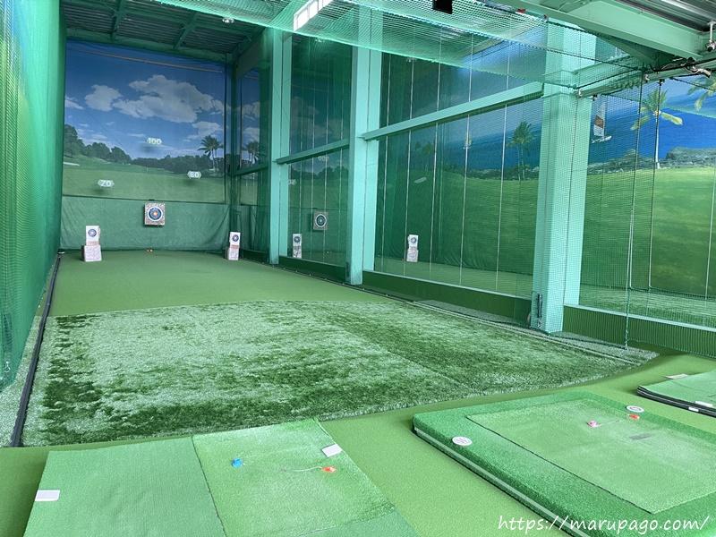 北広島市 札幌パークランド パークゴルフ 打ちっぱなし練習場