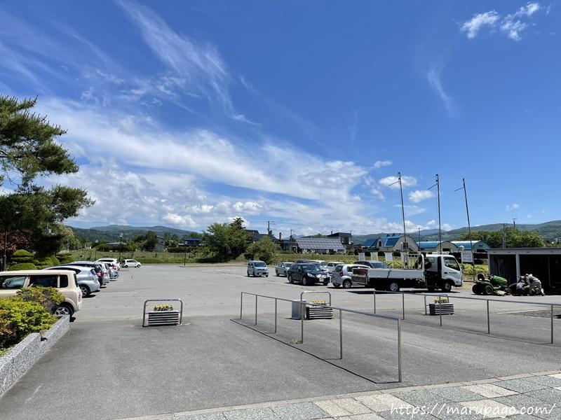 壮瞥町郷土資料館 横綱北の湖記念館から見た駐車場