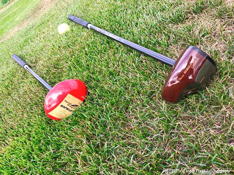 パークゴルフに必要な道具