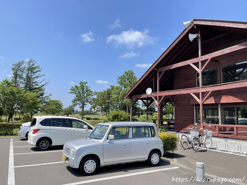 恵庭中央パークゴルフ場 駐車場