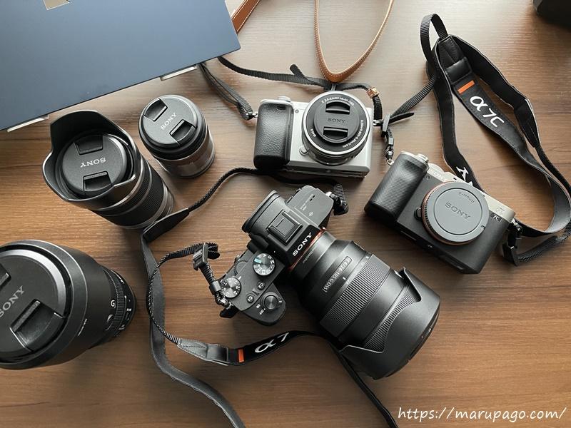 まるパゴ カメラ撮影機材