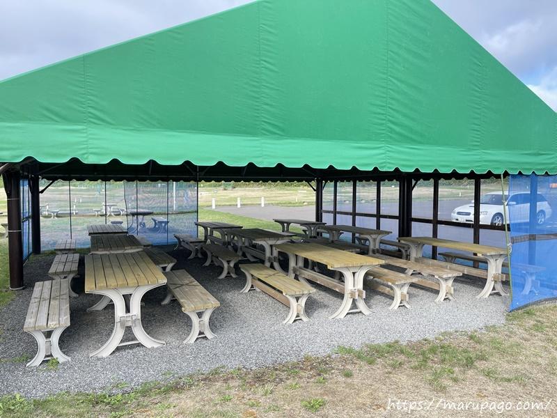 パークゴルフ場 休憩所